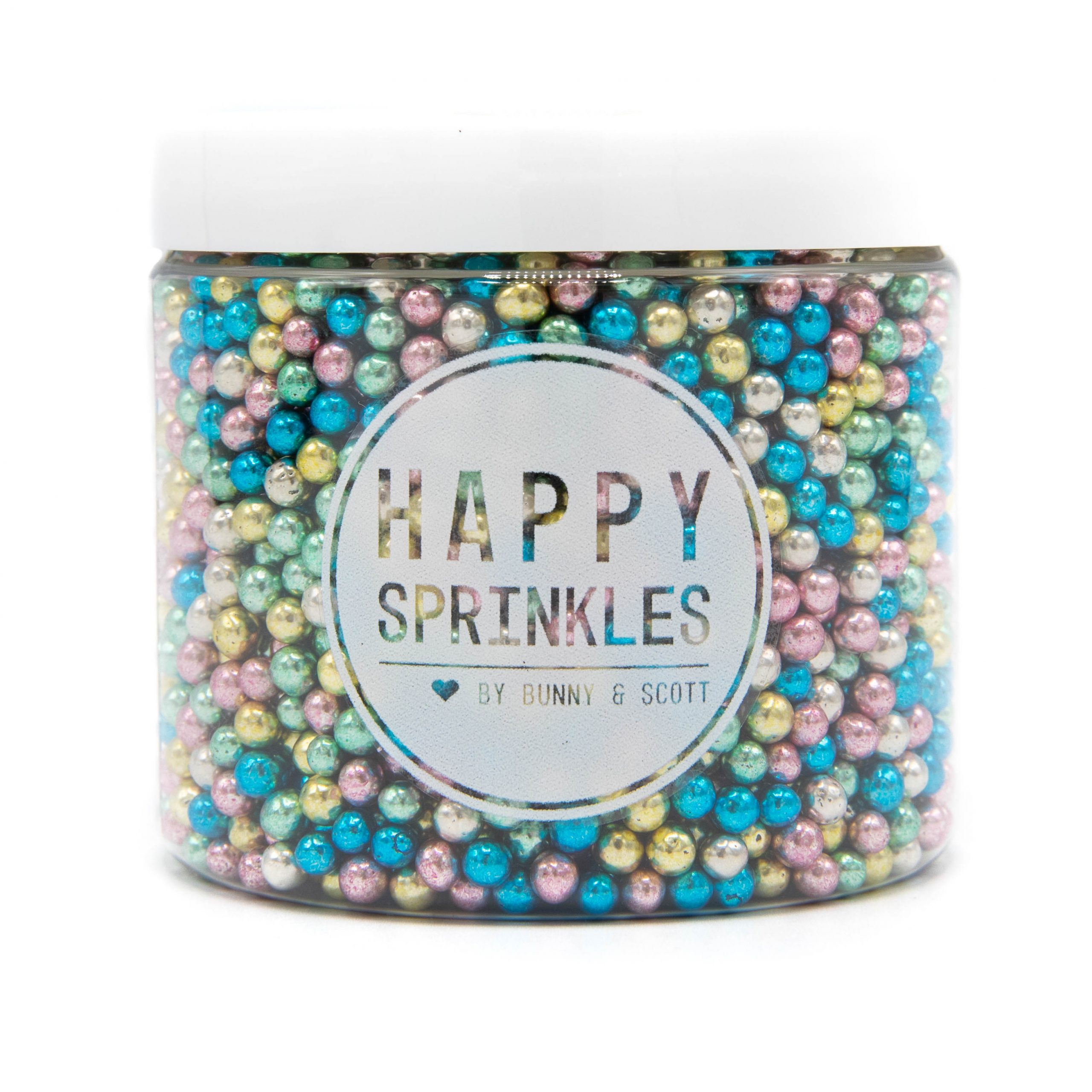 Happy Sprinkles Metallic Explosion